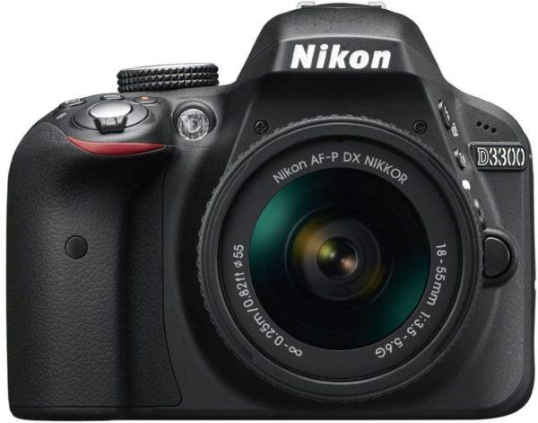 Nikon D3300 Digital SLR Camera + AFP 18-55mm Lens