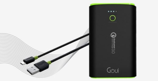 Goui GEBQ12K01K Taya+ Power Bank 10200mAh