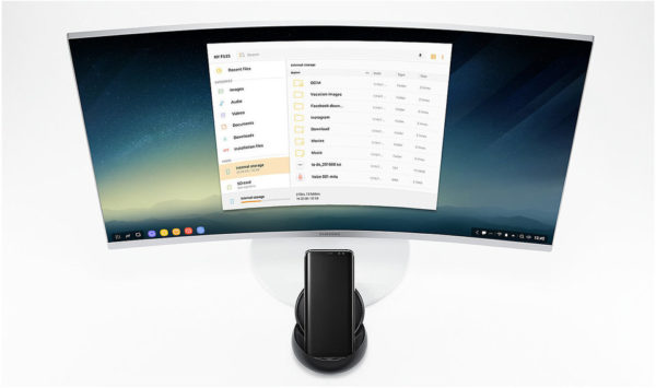 Samsung Galaxy S8 Dex Station With Travel Adapter Black