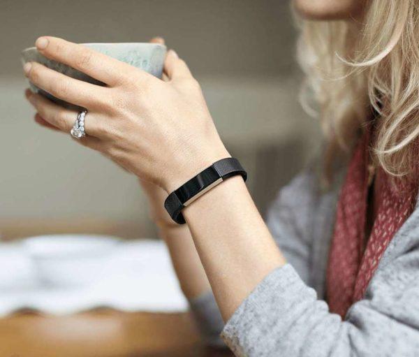 Fitbit Alta HR Wristband Black Large FB408SBKLEU
