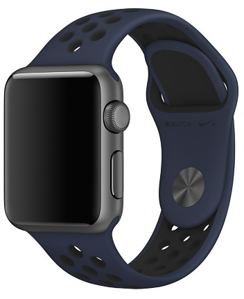 Apple Nike Sport Band 38mm Obsidian/Black