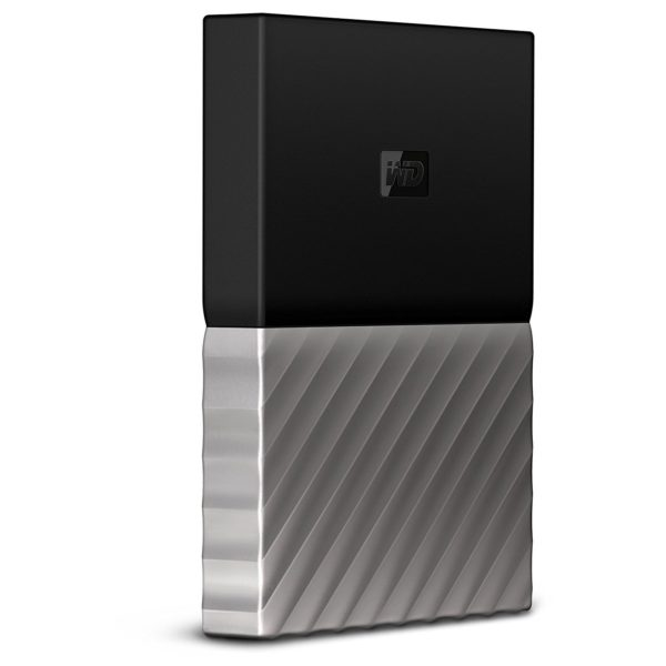 Western Digital My Passport Ultra Metal Portable External Hard Drive USB 3.0 2TB Black/Grey WDBFKT0020BGYWESN