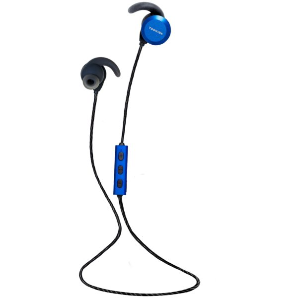 buy toshiba bluetooth in ear headset blue rze bt300e in dubai uae toshiba bluetooth in ear. Black Bedroom Furniture Sets. Home Design Ideas