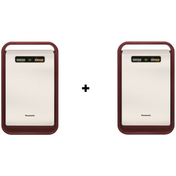 Panasonic FPBJ30MR Air Purifier + FPBJ30MR Air Purifier