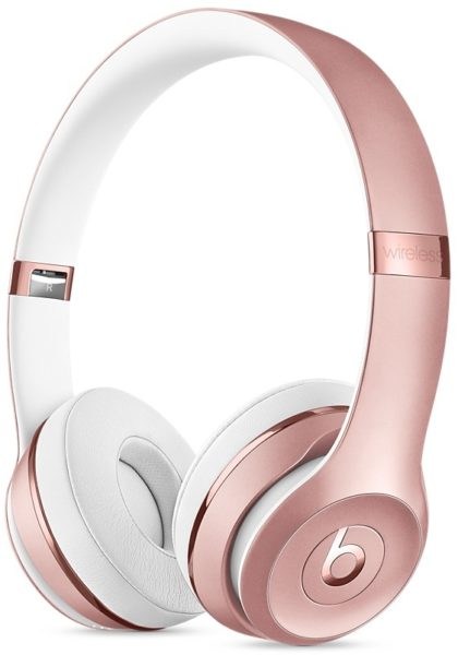 Beats MNET2SO/A Solo3 Wireless On-Ear Headphones Rose Gold