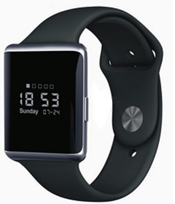 Eklasse EKSW02AR Smart Watch 0.95inch Black