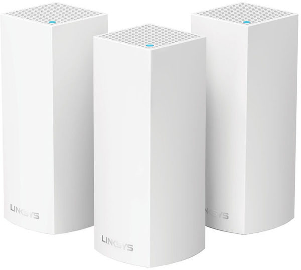 Linksys Velop Whole Home WiFi Mesh System Tri-band AC6600 3PCK WHW0303