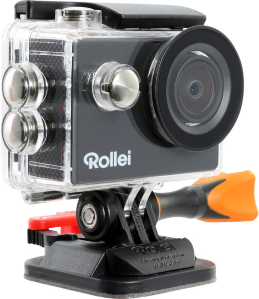 Rollei Actioncam 415 Action Camera Black + Rollei Zubehor Outdoor Kit