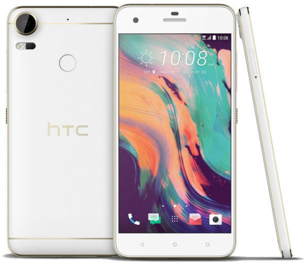 HTC Desire 10 Pro 4G Dual Sim Smartphone 64GB Polar White