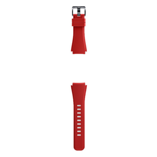Samsung Frontier Solis Strap Band Red For Gear S3 - ET-YSU76MREGAE
