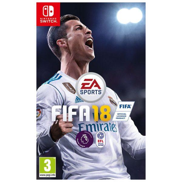 Nintendo Switch FIFA 18 Standard Game
