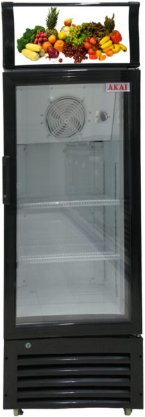 Akai Upright Bottle Cooler 370 Litres SCMA370A