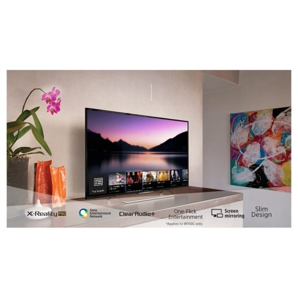 buy sony 65x7000e 4k uhd smart led television 65inch in. Black Bedroom Furniture Sets. Home Design Ideas
