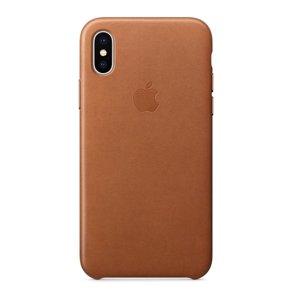 Buy Apple Leather Case Saddle Brown For iPhone X \u2013 MQTA2ZM\/A in Dubai UAE. Apple Leather Case