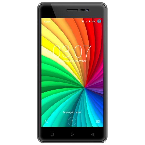 Vsun Mercury Tough 4G Dual Sim Smartphone 8GB Grey