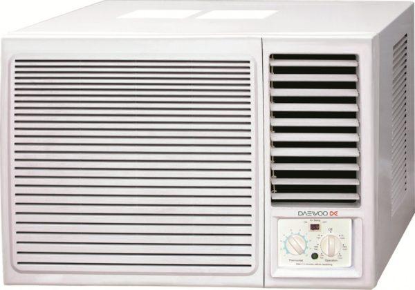 Buy daewoo window air conditioner 2 ton dwb2448ct in dubai for 2 ton window air conditioner