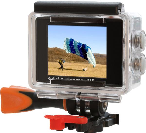 Rollei Actioncam 415 Action Camera Black + Rollei Zubehor Outdoor Kit