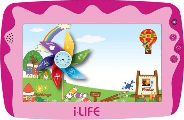 ILife Kids Tab Tablet - Android WiFi 8GB 512MB 7inch Pink