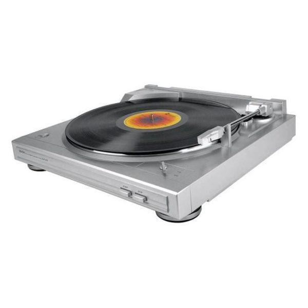 Denon DP29F Turntable Silver
