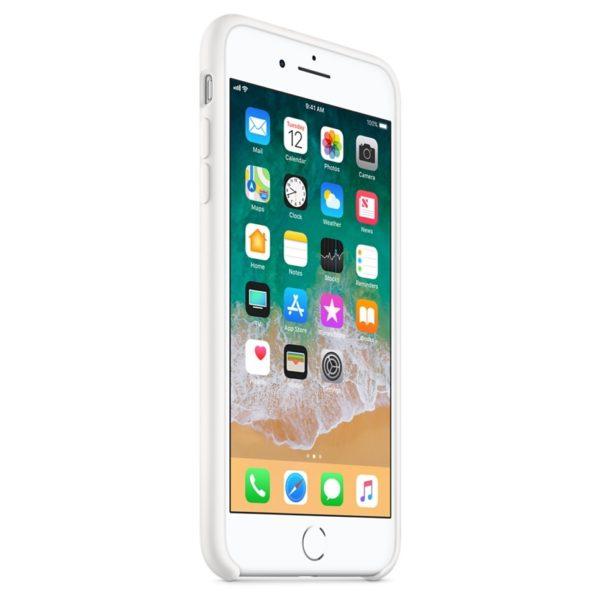 buy apple silicone case white for iphone 8 plus 7 plus