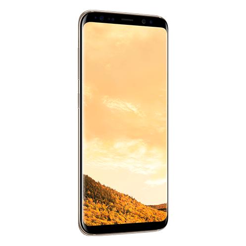 Samsung Galaxy S8 4G Dual Sim Smartphone 64GB Maple Gold ( *T&C Apply )