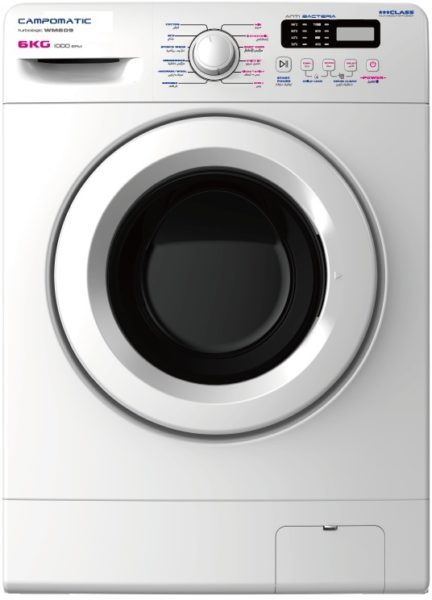 Campomatic Front Load Washer 6kg WM609