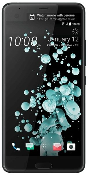 HTC U Ultra 4G Dual Sim Smartphone 64GB Brilliant Black