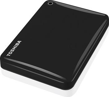 Toshiba HDTC810EK3AA Canvio Connect II Hard Drive 1TB Black