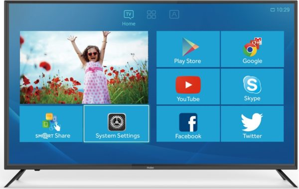 Haier LE 75H9000TUA UHD Android Smart Television 75inch