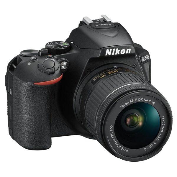 Nikon D5600 Digital SLR Camera With AF-P DX 18-55mm VR Lens