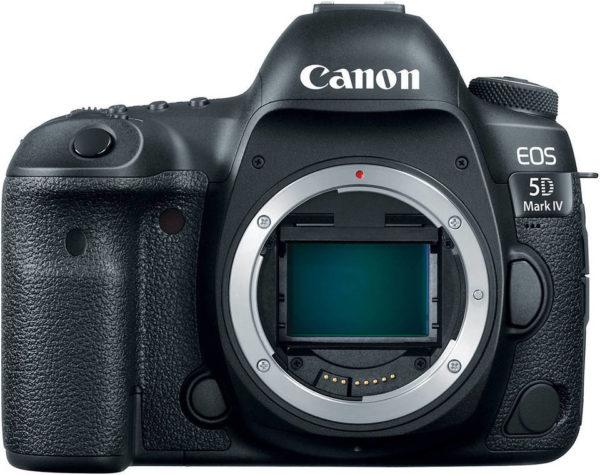 Canon EOS 5D Mark IV DSLR Camera Black With 24-70mm F/4L IS USM Lens