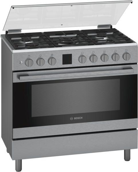 Bosch 5 Gas Burners Cooker HGK90VQ50M