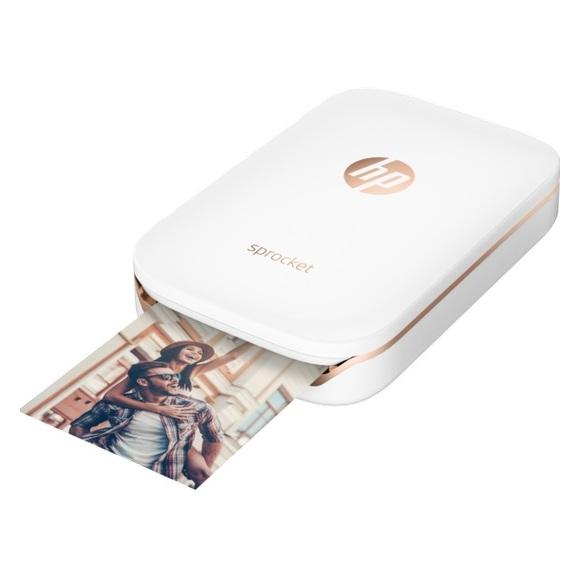 HP Sprocket Bluetooth Photo Printer White