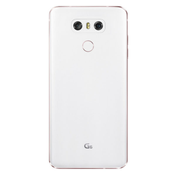 LG G6 4G Dual Sim Smartphone 32GB White+Type C Car Charger+64GB Memory Card