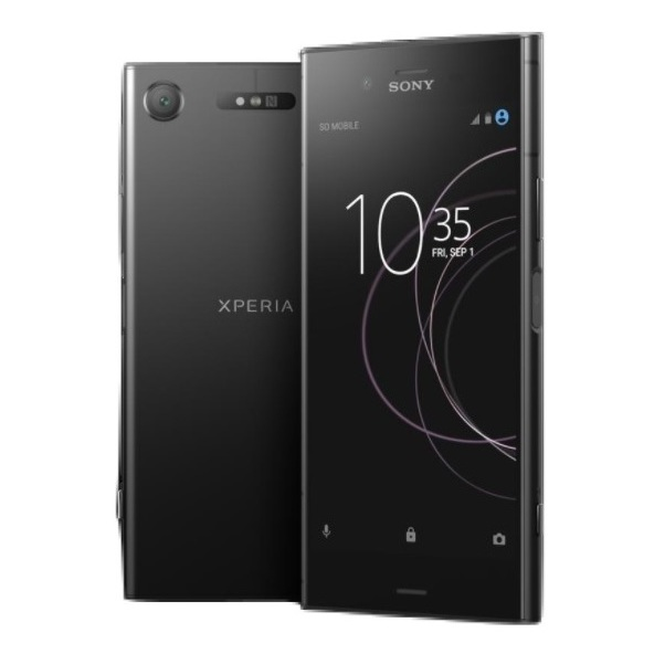 Sony Xperia XZ1 4G Dual Sim Smartphone 64GB Black + Case