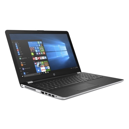 HP 15-BS004NE Laptop - Core i3 2GHz 4GB 1TB 2GB Win10 15.6inch HD Silver