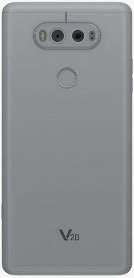 LG V20 4G Dual Sim 64GB Silver+HBS1100 Headset + Case
