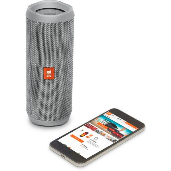JBL FLIP4 Waterproof Portable Bluetooth Speaker Grey