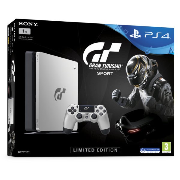 Sony PS4 Slim Gran Turismo Sport Limited Edition Console 1TB With Game