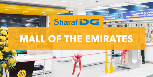 Sharaf Dg Mall Of The Emirates Store Sharaf Dg Uae