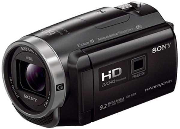 Sony HDRPJ675 Full HD Handycam Camcorder Black W/ Built In Projector
