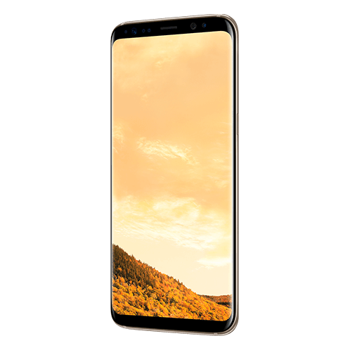 Samsung Galaxy S8 4G Dual Sim Smartphone 64GB Maple Gold ( *T&C Apply )