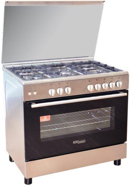 Super General 5 Gas Burners Cooker SGC9070FS