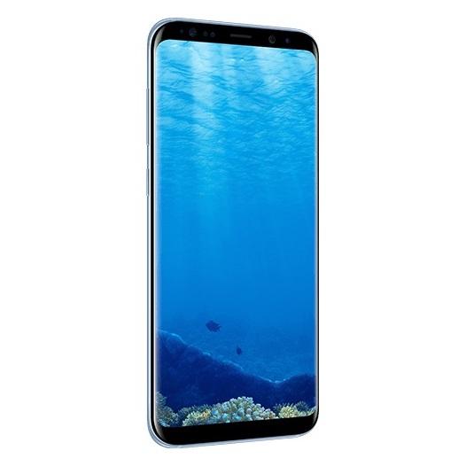 Samsung Galaxy S8+ 4G Dual Sim Smartphone 64GB Coral Blue ( *T&C Apply )