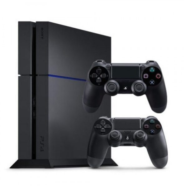 Sony PS4 Console 1TB Black + Dual Shock 4 Controller
