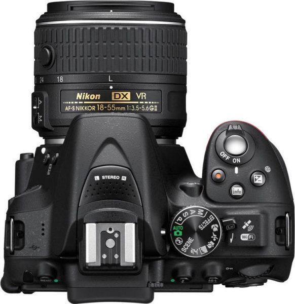 Nikon D5300 DSLR Camera Black With AF-P 18-55mm Lens + 55-200 VR II Lens