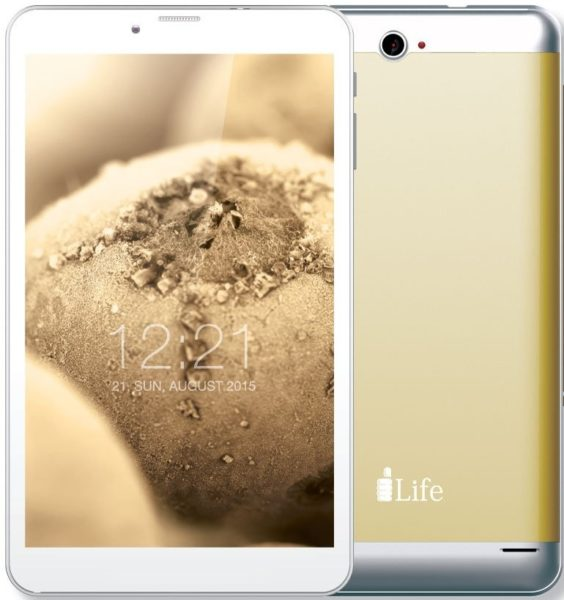 ILife K4800 Tablet - Android WiFi+4G 16GB 1GB 8inch Gold + Action Camera