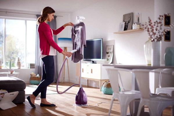 Philips Clear Touch Vertical Garment Steamer GC53536