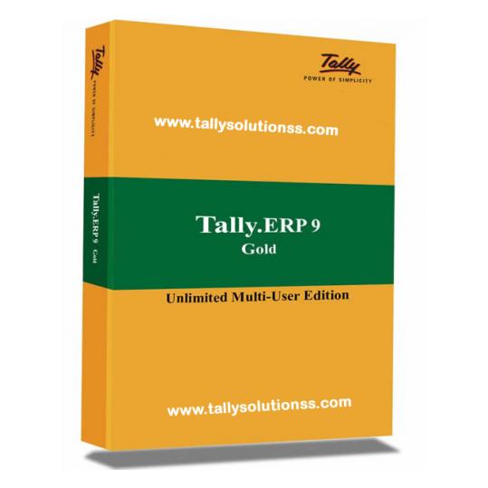 Tally ERP 9 Gold International Software