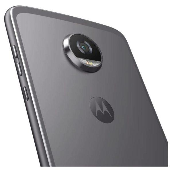 Moto Z2 Play 4G Dual Sim Smartphone 64GB Lunar Grey With Moto Mods 360 Camera